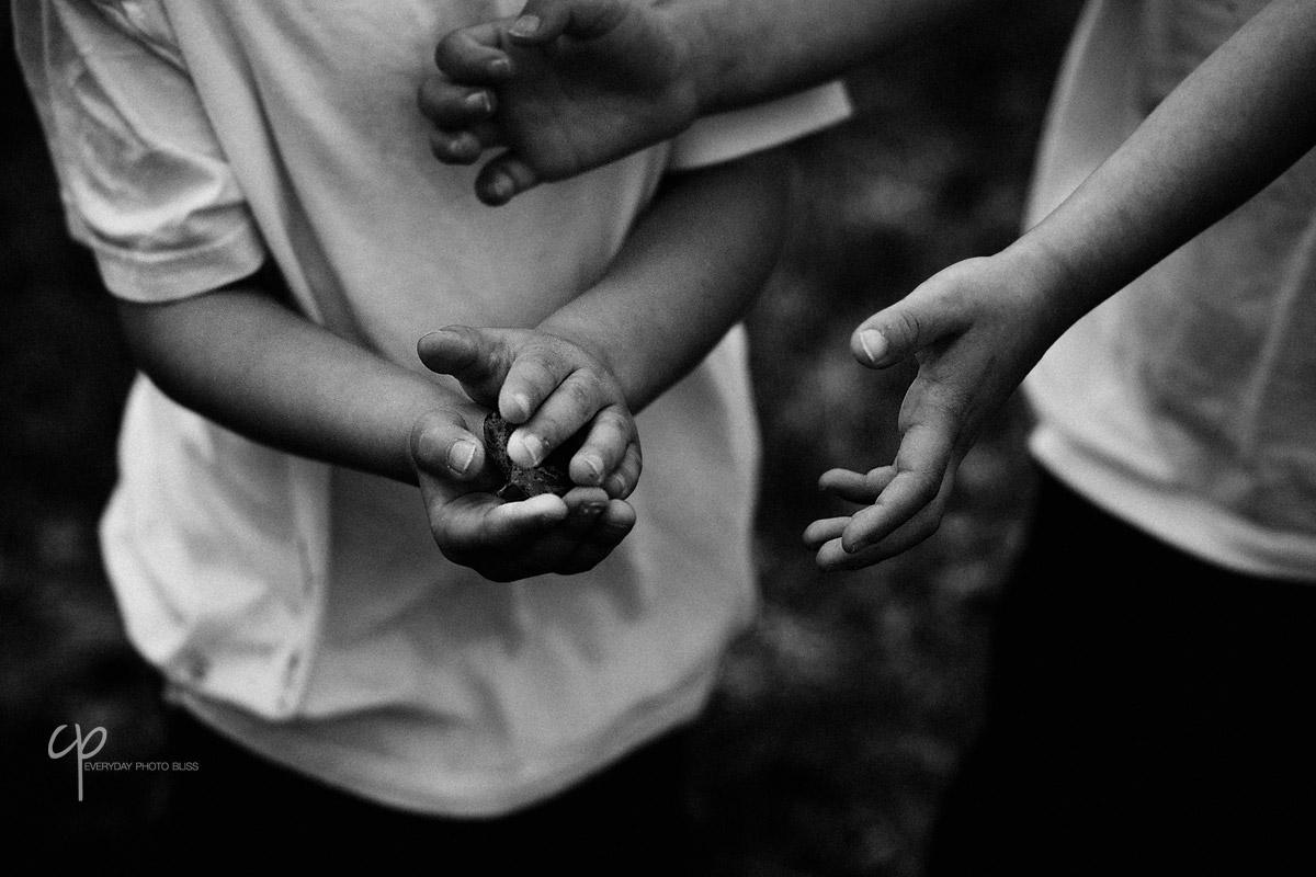 boys hands by Celeste Pavlik