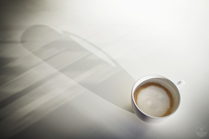 coffee cup by Vironica Golden