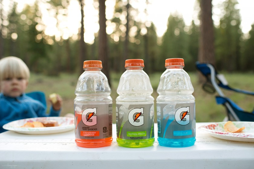 gatorade bottles by Lacey Meyers
