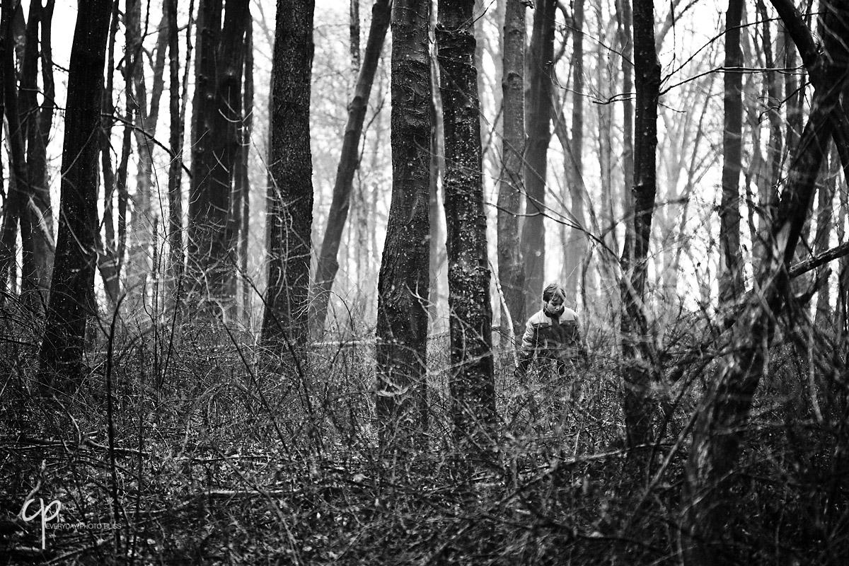 kid in the trees by Celeste Pavlik