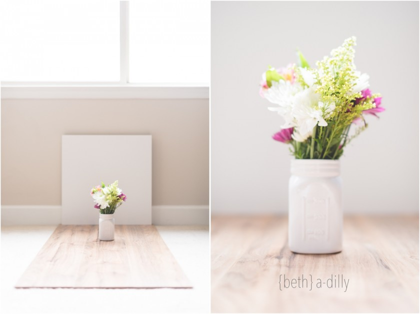 vase and flowers pullback by Beth Deschamp of Bethadilly Photography