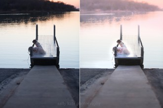 before and after photo edit from Sally Molhoek