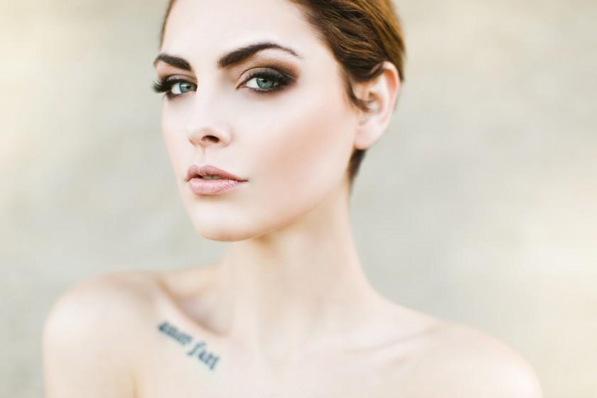 female portrait by Ben Sasso