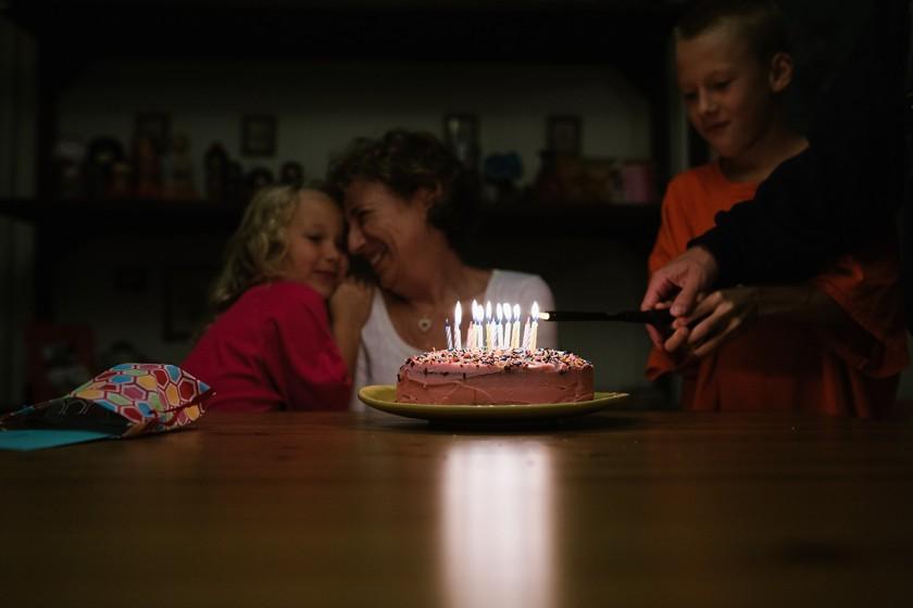 birthday cake by Meredith Novario