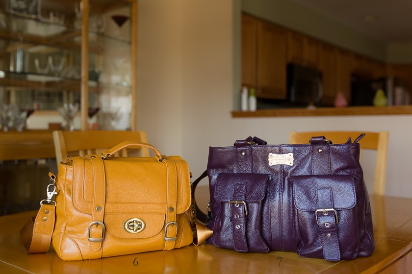 camera bags of photographer Kristy Dooley