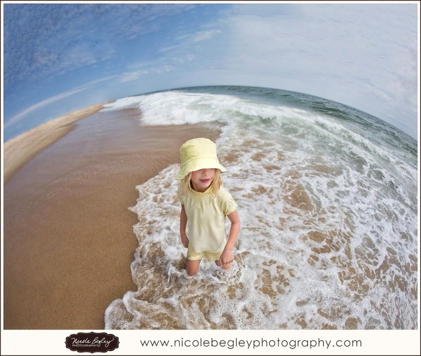 girl on the beach photo by Nicole Begley