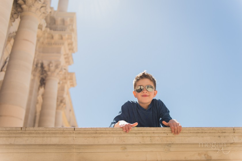 4 Boy in full sun in Sicily by photographer Megan Cieloha