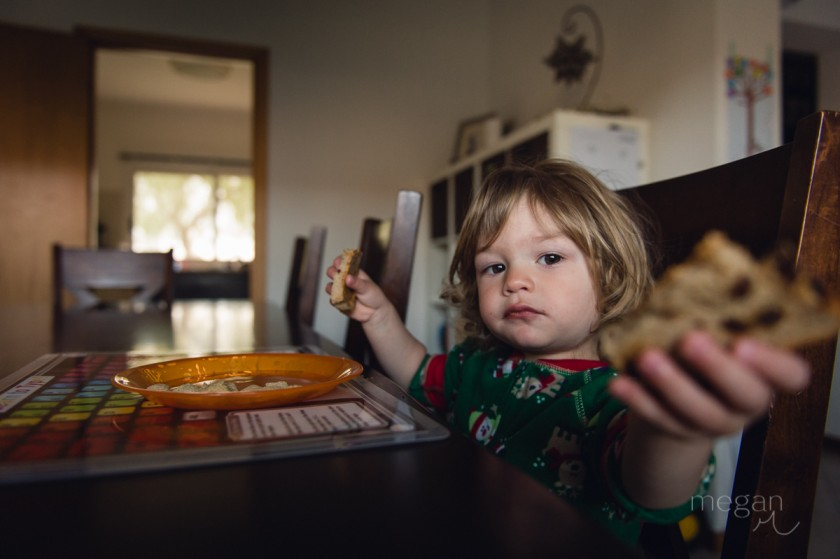 5 Baby boy at breakfast with catchlights by photographer Megan Cieloha