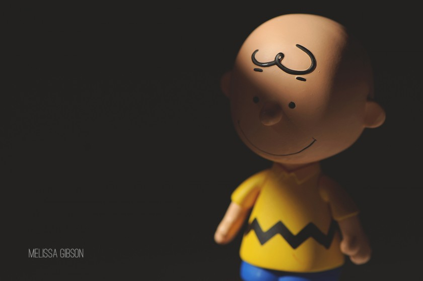 Charlie Brown toy by Melissa Gibson