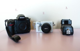 Nikon cameras of photographer Beth Mancuso of Manic Mother Photography