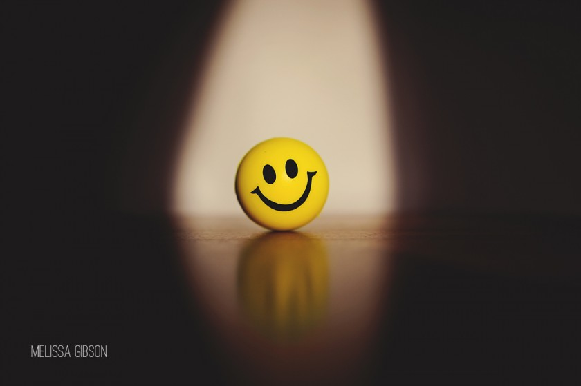 smiley face stress ball picture by Melissa Gibson