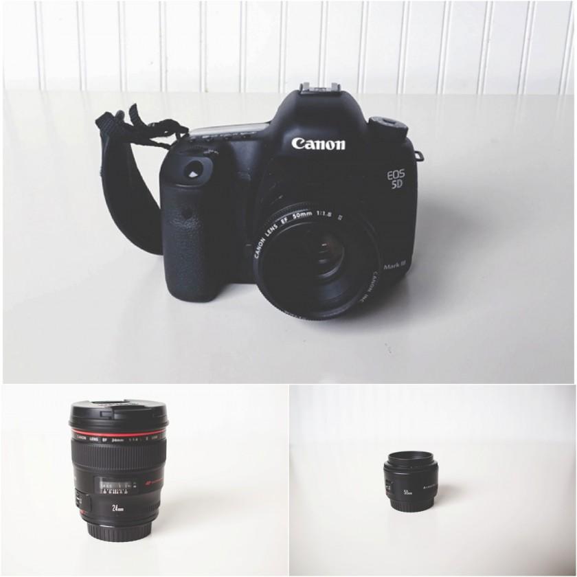Canon 5d mark III and Canon lenses