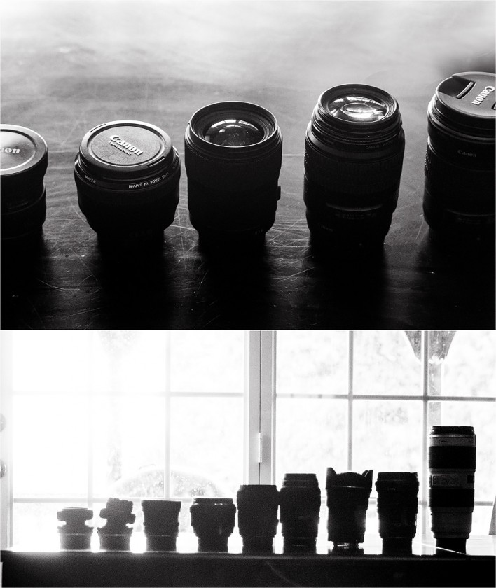 Canon and Lensbaby lenses of Sally Molhoek