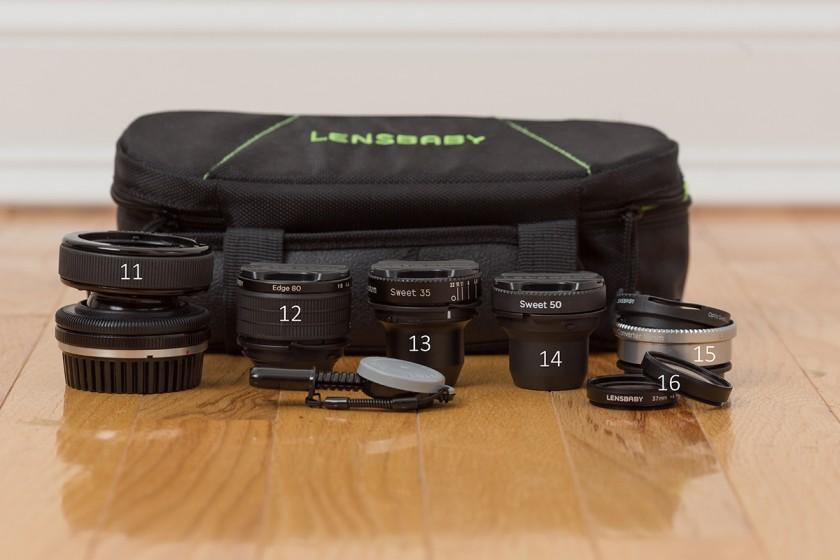 Lensbaby lenses