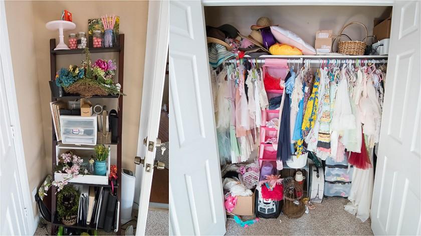 closet space of Sally Molhoek