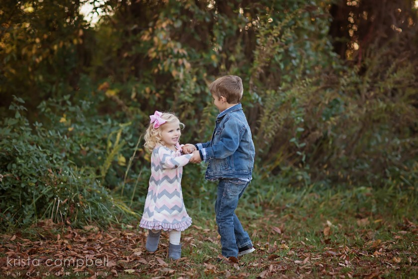 kids twirling photo by Krista Campbell