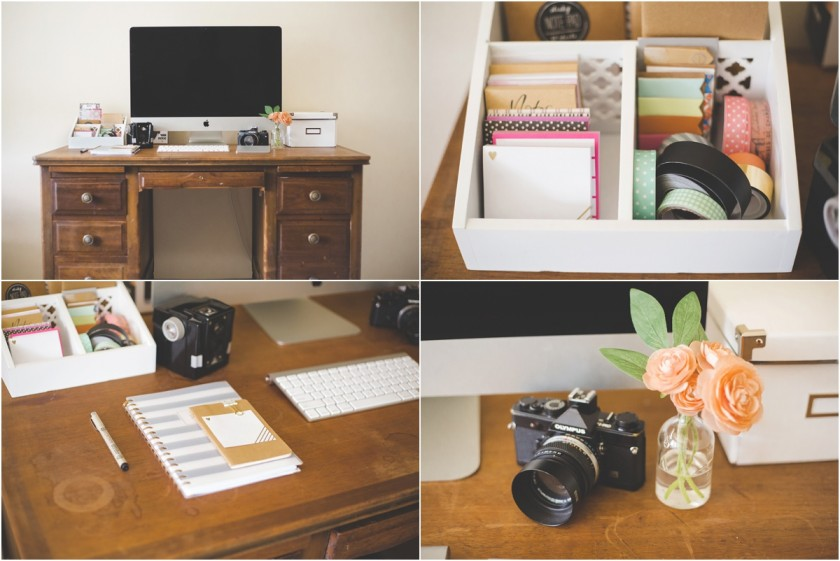 office space of photographer Brittany Chandler