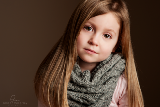 picture of girl wearing a scarf by Allison McSorley