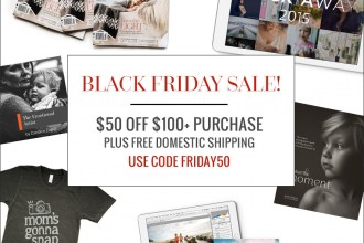 Black Friday sale for photographers from Clickin Moms