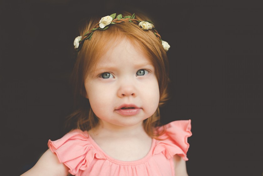 natural light photo of toddler girl by Tiffany Kelly