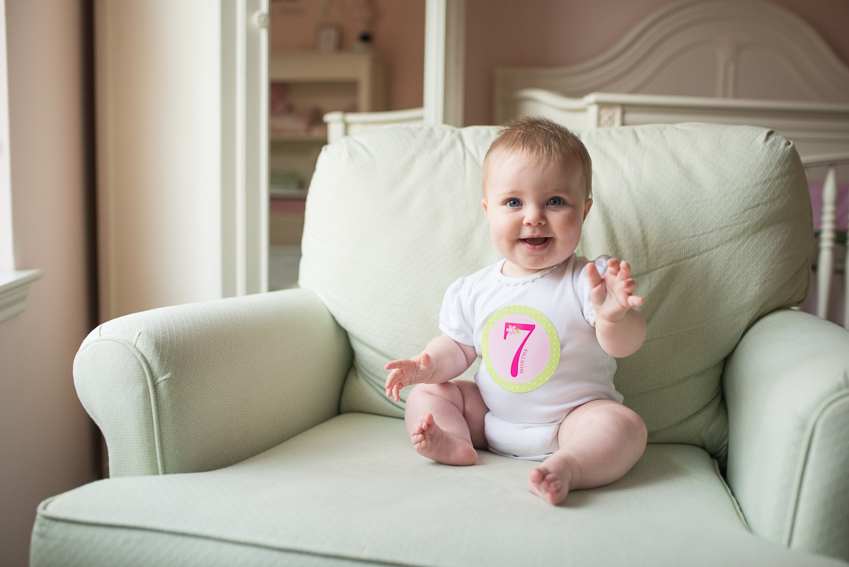 7 month baby photo by Sarah Carlson