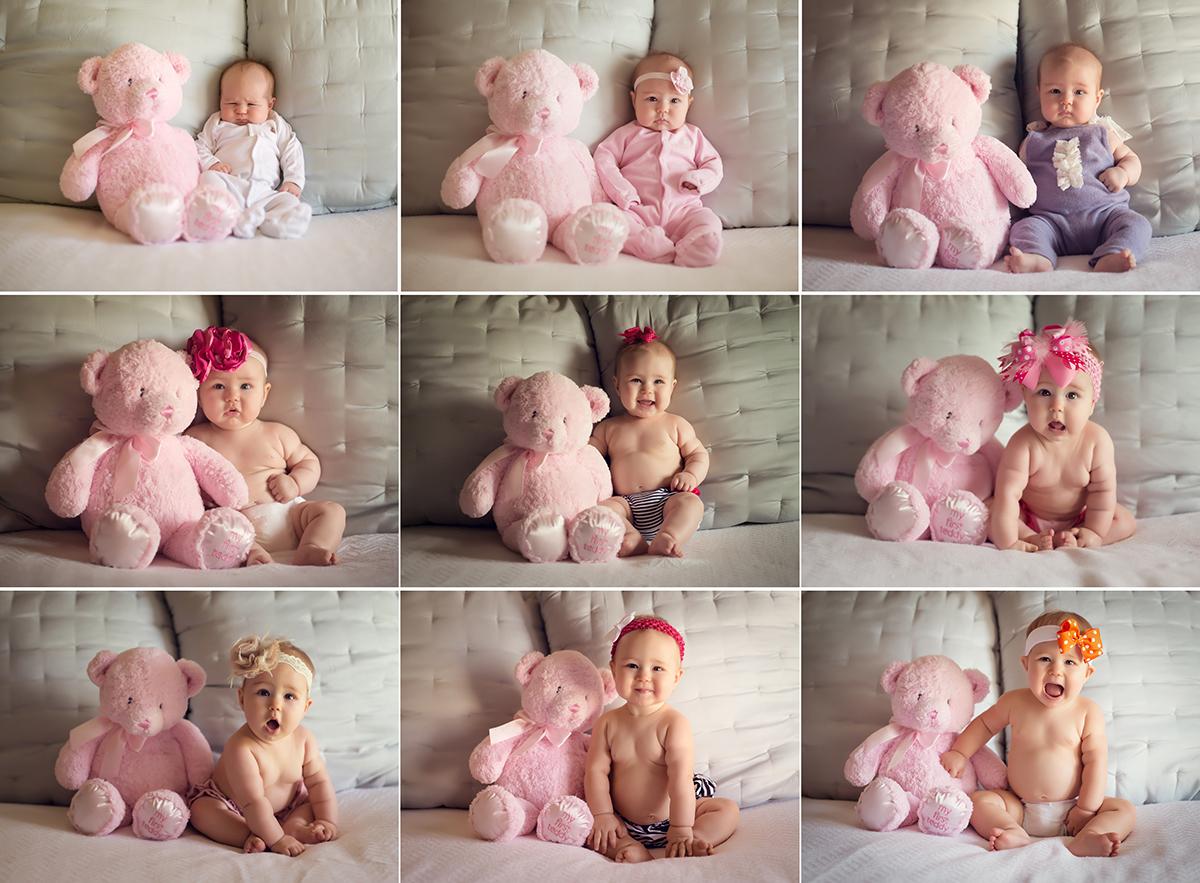 Идеи фото ребенка 1 месяц