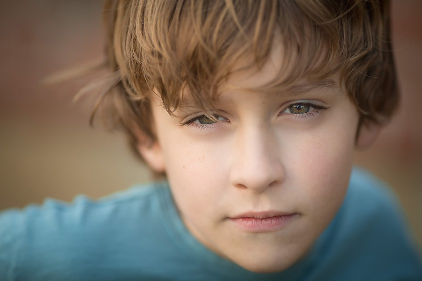 headshot of tween boy by Sally Molhoek of Sallykate Photography