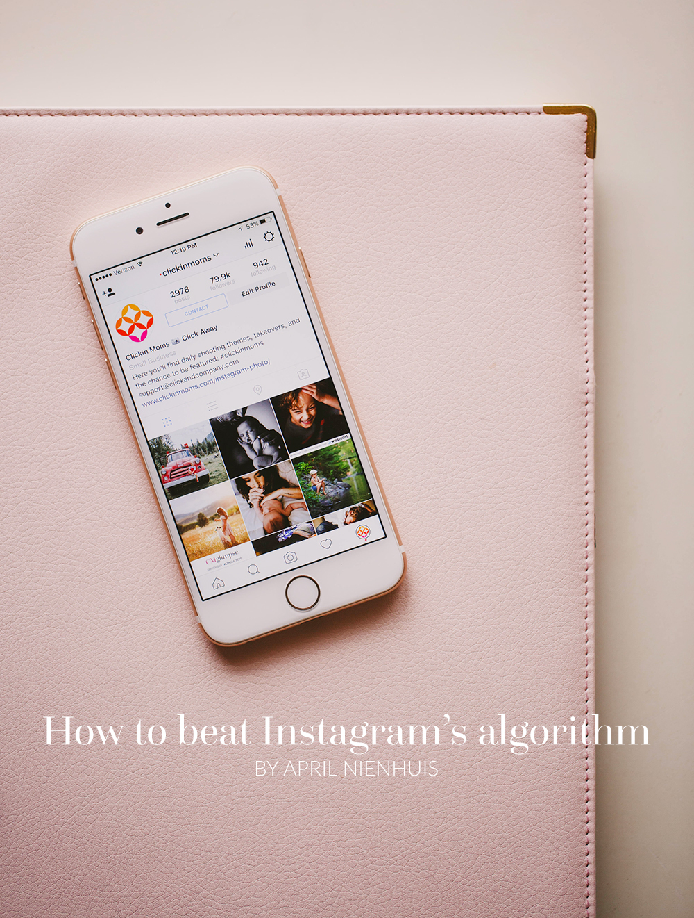 Instagram is changing. The chronological order or posts that you know and love will be replaced by an algorithm. Here's how you can beat it.