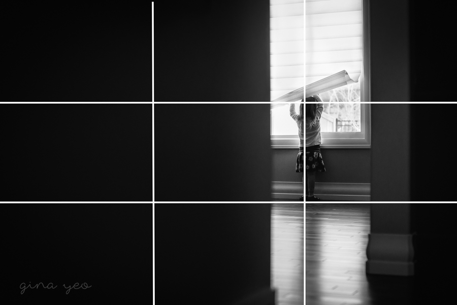 example of the rule of thirds by Gina Yeo