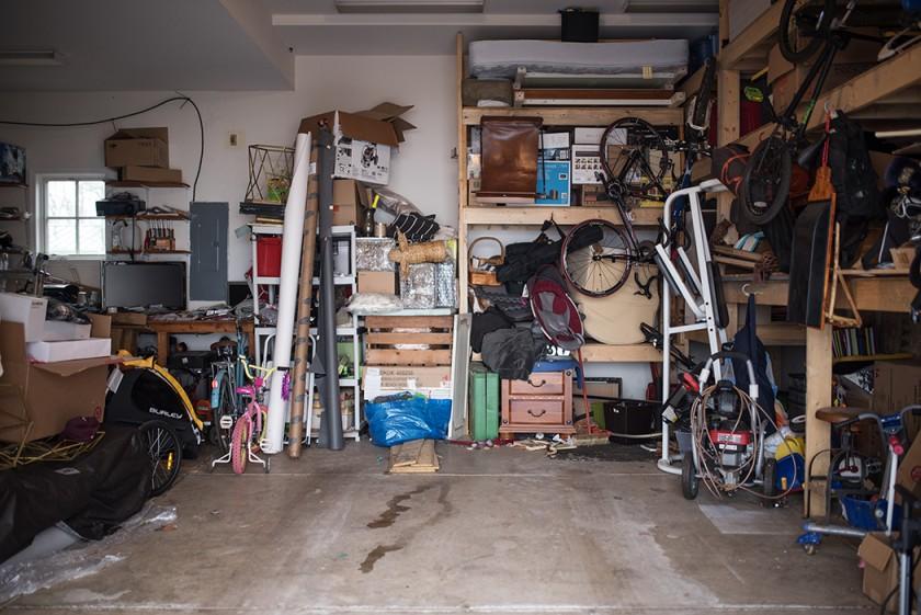 pullback of garage by Kellie Bieser