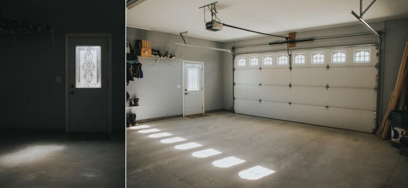 pullback photo of garage by Suzie Ziemke