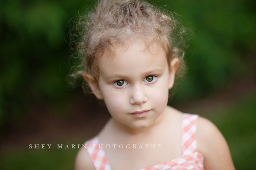 portrait of young girl by Shey Detterline