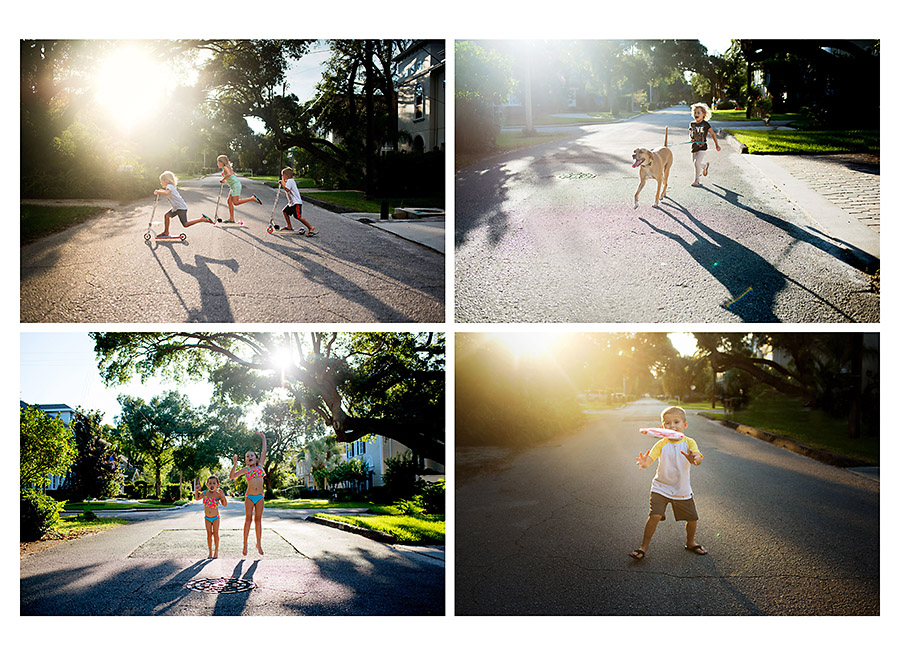 Creative-Photographic-Series-of-Children-Playing-on-a-Sunny-Street-by-Photographer-Maggie-Fuller