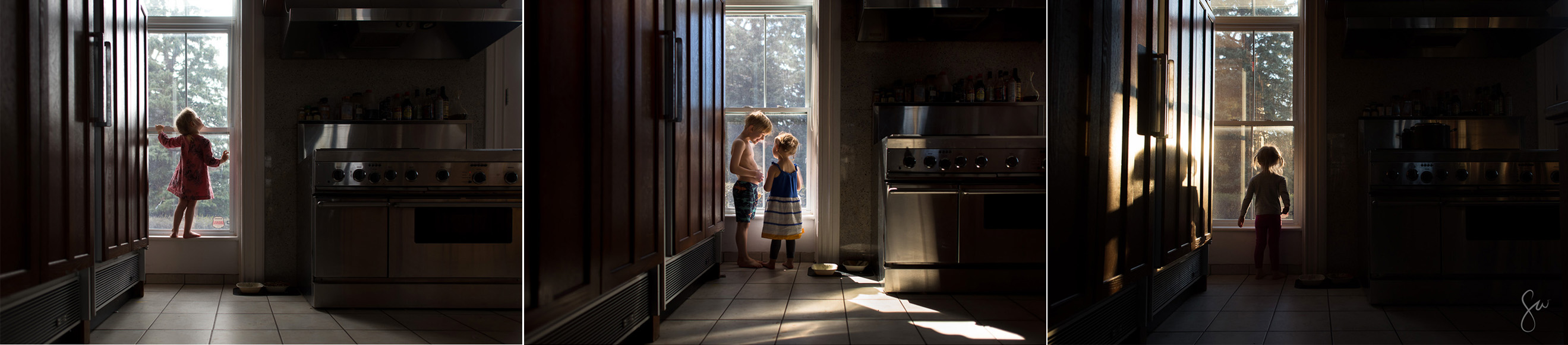 Photography-Series-of-Daily-Life-in-Front-of-Kitchen-Window-by-Photographer-Sarah-Wilkerson