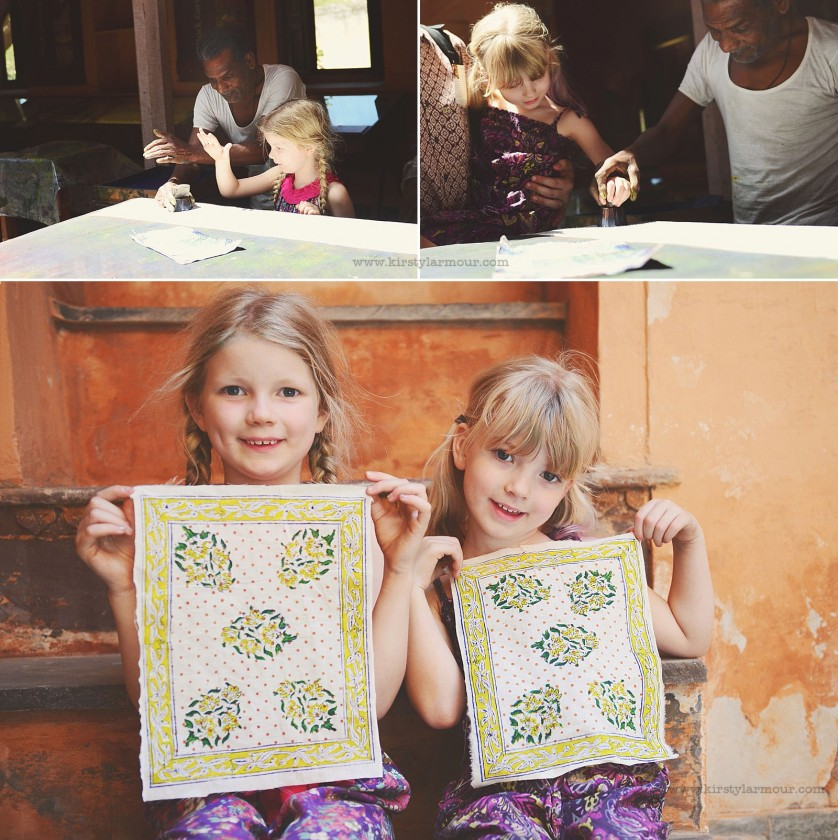 photo of kids making handkerchiefs by Kirsty Larmour 5