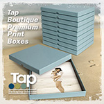 1 Tap Boutique Prenium Print box 10 pack in Robin's Egg