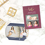 WHCC foil pressed cards