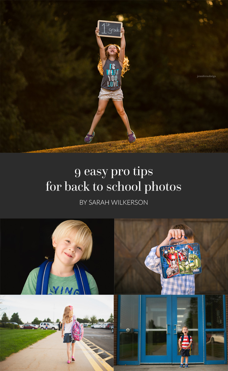 It's back-to-school season, and you know what that means: freshly sharpened #2 pencils, haircuts, crisp clean notebook pages, milk money, and pictures! And we've got nine simple pro secrets to make this year's back-to-school photos your best pics yet.