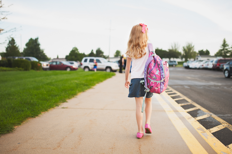 Pro-Back-to-School-Photo-Secrets-Show-Girl-Walking-to-School-with-Backpack-by-Mickie-DeVries