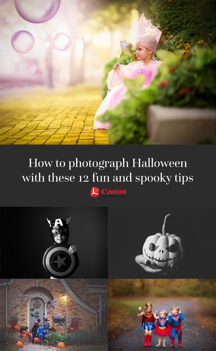 Photographing Halloween should be just as fun as it is to participate in. The Click Pros are offering their best Halloween photography tips!