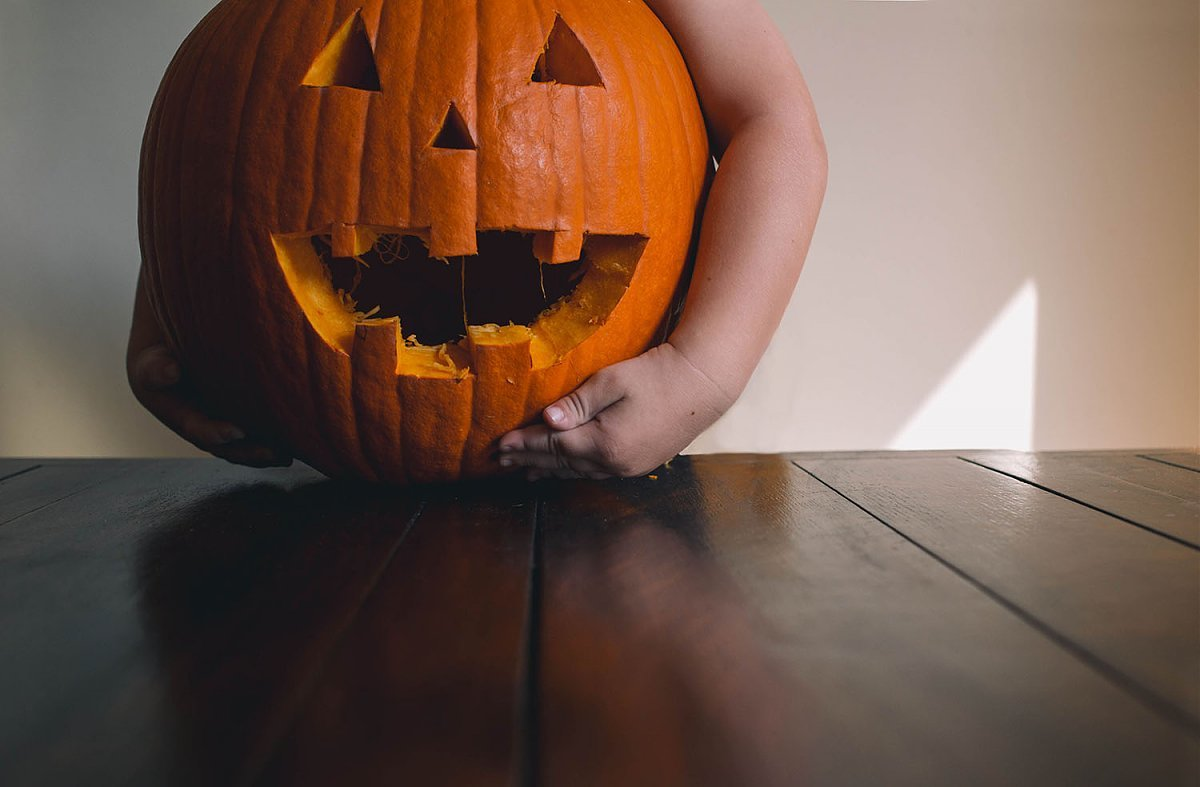 jack-o-lantern photo by Meg Nesom