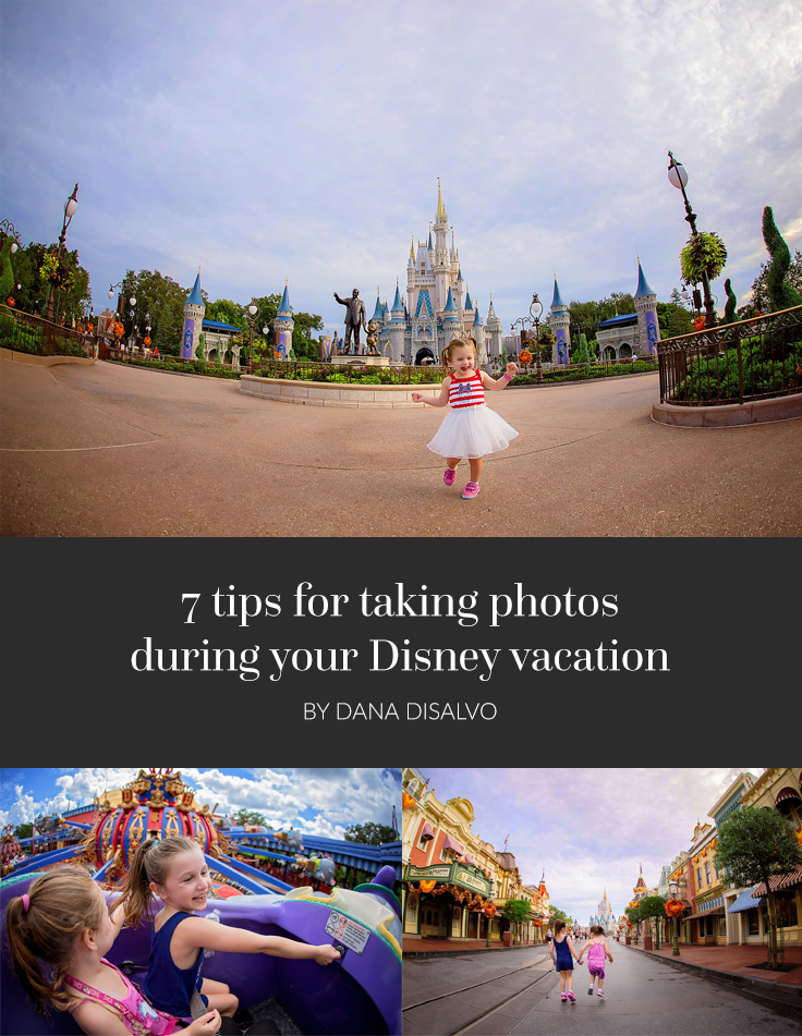 We have annual passes to Disney and go there A LOT! I mean, wouldn't you? I'm going to share some of my favorite photography tips that I've learned through my many trips to The Happiest Place on Earth!