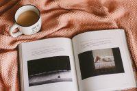 coffe and cameras mug and photography book