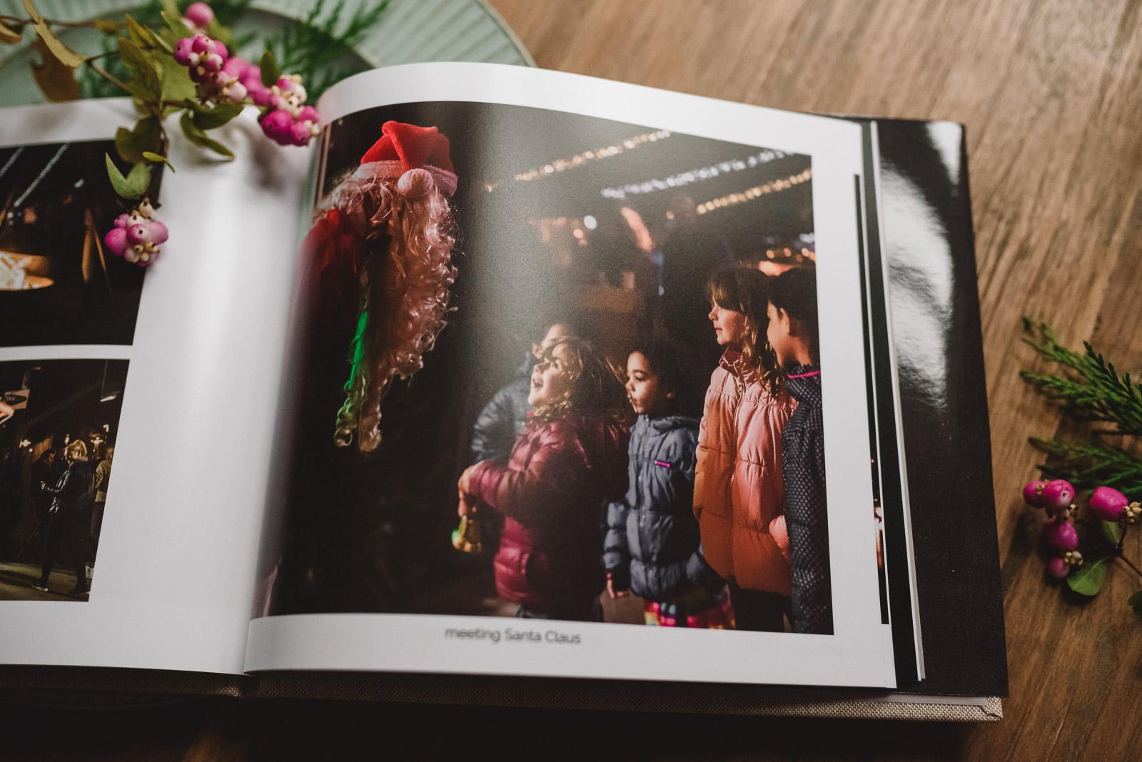 Christmas photo book by Anita Perminova