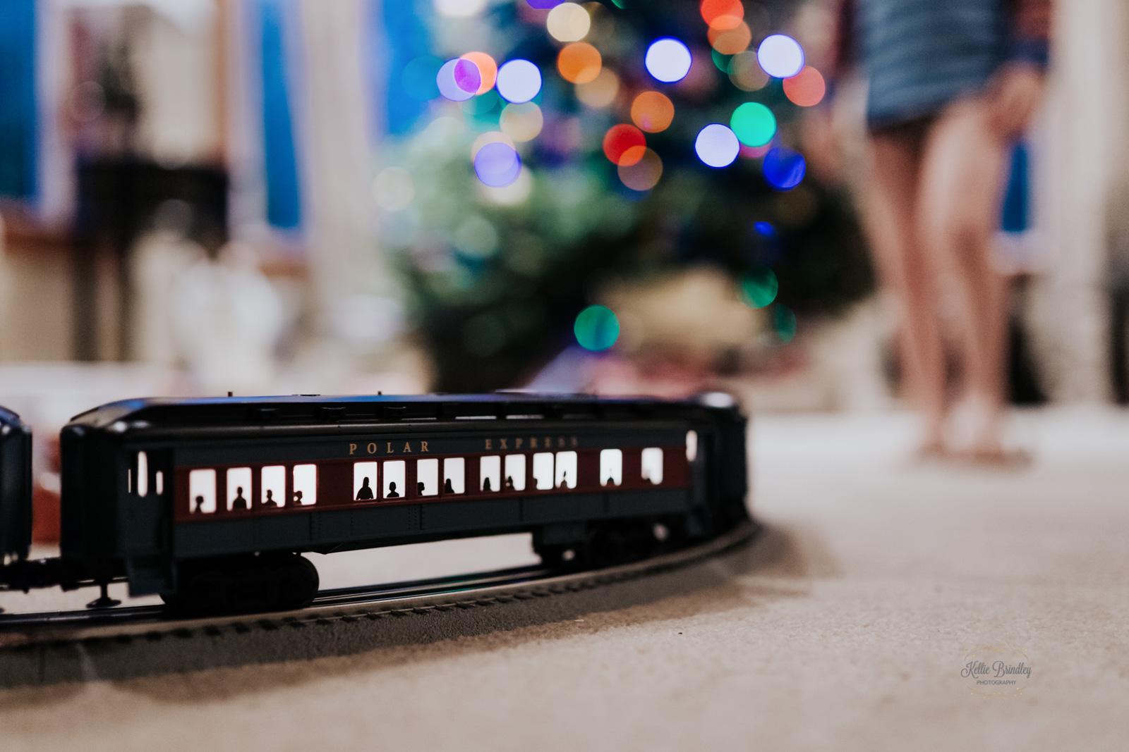 photo of Polar Express train by Kellie Brindley