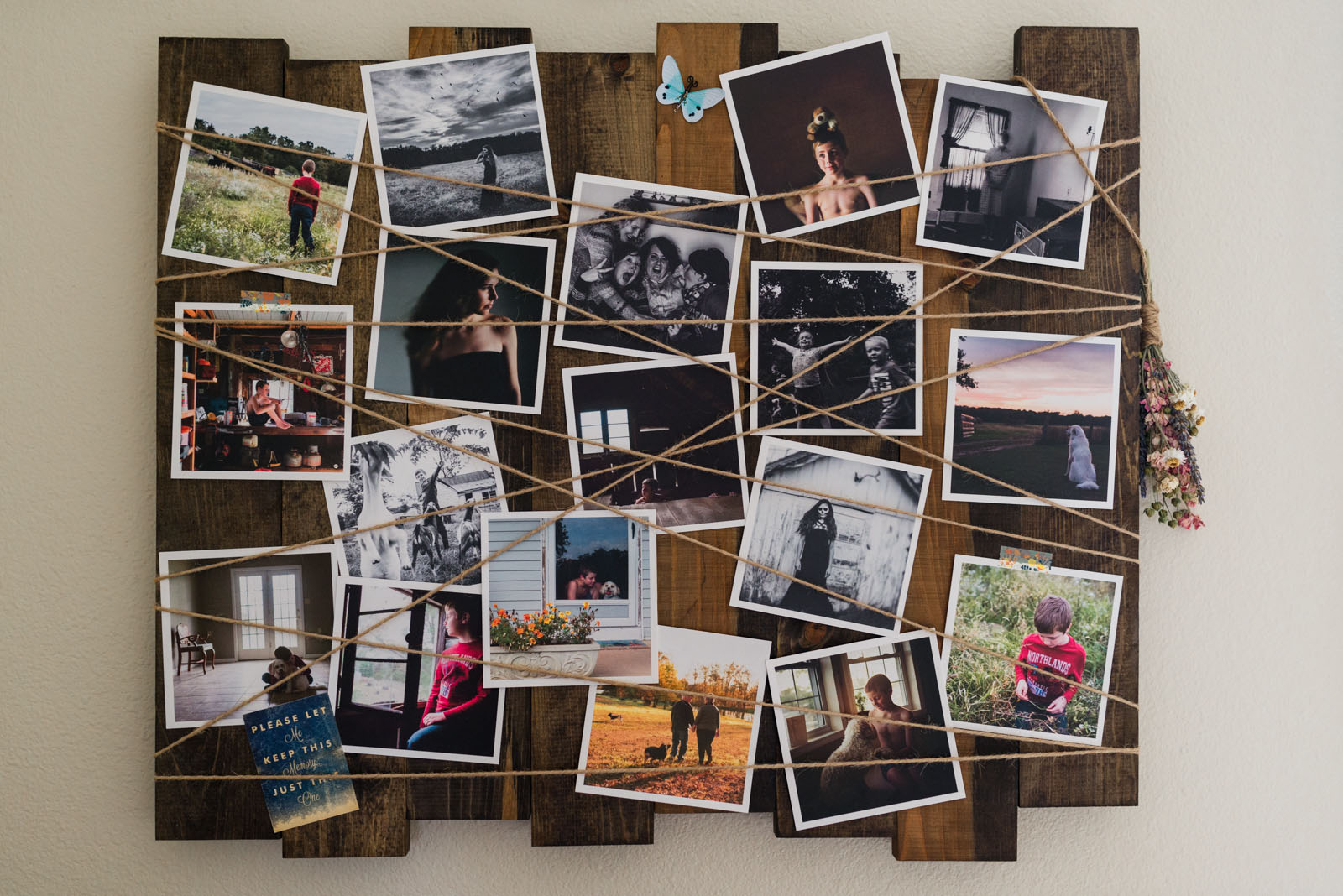 If you're like me and shoot almost daily, then you have so many you could never print and display them all. Over time I started looking for ways to display them that wouldn't break the bank and would allow me to change them out often and easily.