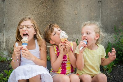 Always looking for inspiration, I'm realizing that simple summer treats can provide the perfect motivation to help capture childhood memories.
