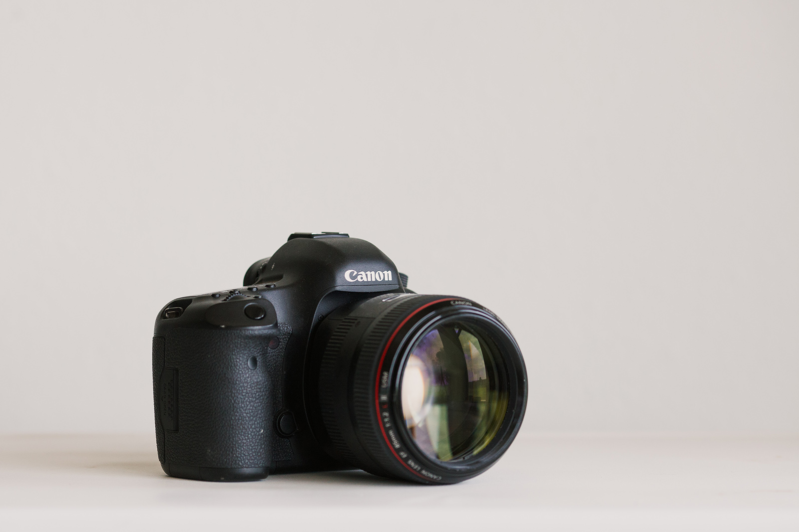 Canon 5d mark III full frame camera