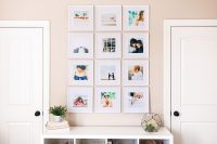 Taking photos is important but PRINTING and SHARING them is the icing on the cake. Making a photo wall is easy and doable in under an hour!