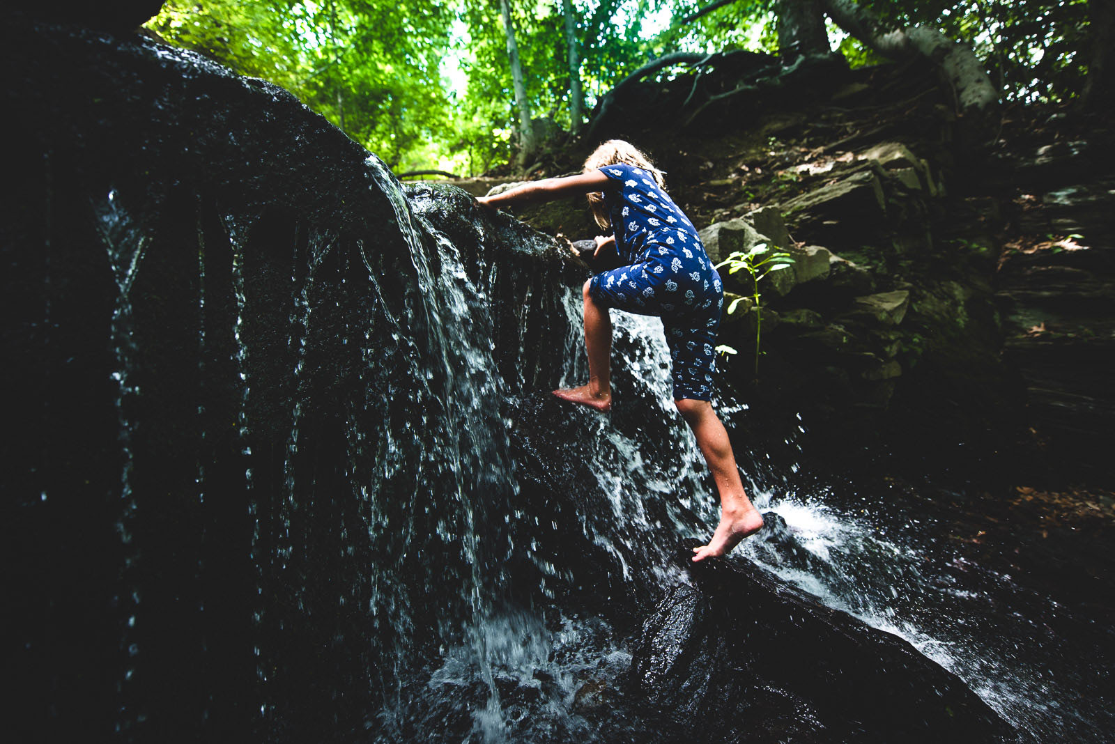 When my children are engaged in an activity, I am able to photograph their true essence. Here are some activities that offer healthy risks and are fun!